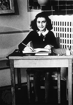 Anne Frank in School at Age 11
