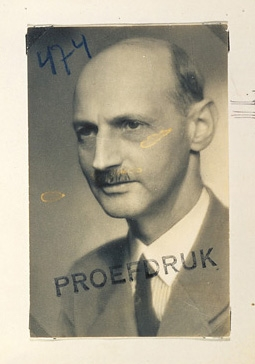 Anne Frank's Favorite Photo of Her Father, Otto Frank