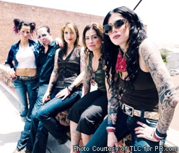 Kat Von D & the Cast of LA Ink