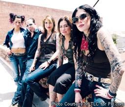 Kat Von D & the Cast of LA Ink