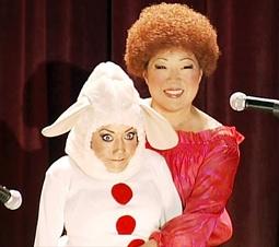 Margaret Cho & Assistant Selene Luna