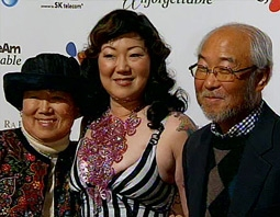 Margaret Cho with Her Parents