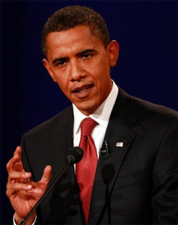 Barack Obama at the First 2008 Presidential Debate