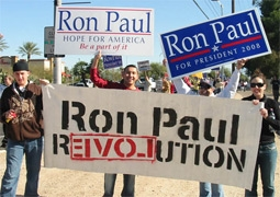 A Rally for Ron Paul