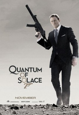 Quantum of Solace with Daniel Craig as James Bond