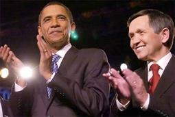 Barack Obama & Dennis Kucinich