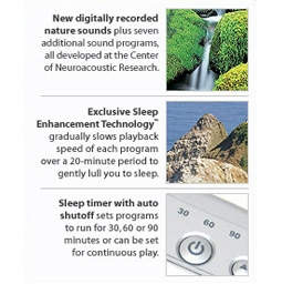 Brookstone's Tranquil Moments Sleep Sound Machines