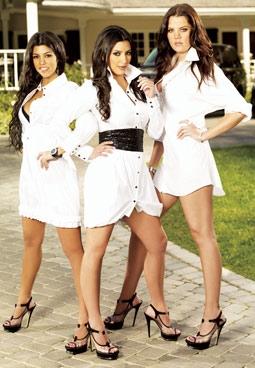 Kourtney, Kim, & Khloe Kardashian