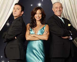 Bruno Tonioli, Carrie Ann Inaba, & Len Goodman of Dancing With The Stars
