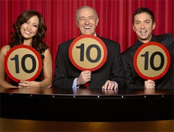 Carrie Ann Inaba, Len Goodman & Bruno Tonioli of Dancing With The Stars