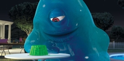 B.O.B., played by Seth Rogen, in Monsters vs. Aliens