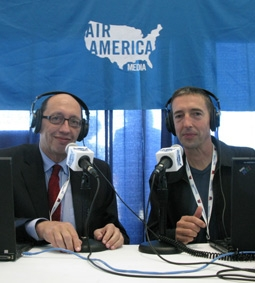 Ron Reagan Broadcasting on Air America Media