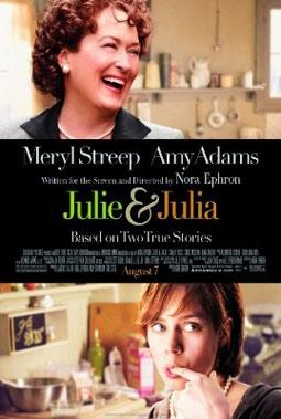 Julie & Julia, with Meryl Streep & Amy Adams
