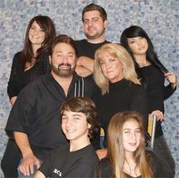 Mary Jo Buttafuoco's Blended Family: Jessica, Paul, Martine, Stu, Mary Jo, Cameron, & Hutton