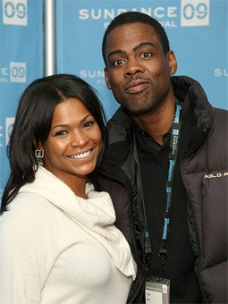 Nia Long & Chris Rock at the 2009 Sundance Film Festival