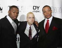 50 Cent, Eminem, & Dr. Dre