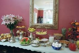 Breakfast Spread at Swann House Bed & Breakfast