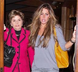 Gloria Allred & Rachel Uchitel