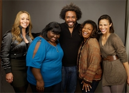 Mariah Carey, Gabourey Sidibe, Lee Daniels, Mo'Nique, & Paula Patton