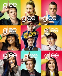 Chris Colfer and the Cast of Glee