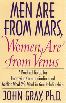 Author John Gray's Original Bestseller, Men Are From Mars, Women Are From Venus