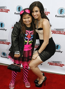 Demi Lovato with Sister Madison De La Garza