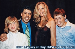 Gary Dell'Abate (Baba Booey) & Family