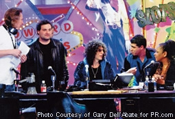 Fred Norris, Artie Lange, Howard Stern, Gary Dell'Abate (Baba Booey) & Robin Quivers