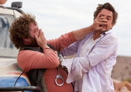 Zach Galifianakis & Robert Downey, Jr. in Due Date