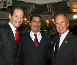 Eliot Spitzer, New York Governor David Paterson, & New York City Mayor Michael Bloomberg