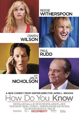 How Do You Know with Reese Witherspoon, Owen Wilson, Paul Rudd, & Jack Nicholson