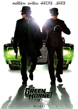 The Green Hornet with Seth Rogen, Jay Chou, Christoph Waltz & Cameron Diaz