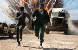 Jay Chou & Seth Rogen in The Green Hornet