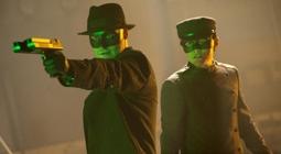 Seth Rogen & Jay Chou in The Green Hornet