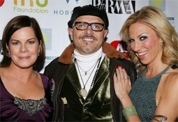 Joe Pantoliano, Marcia Gay Harden & Deborah Gibson at a Screening of No Kidding, Me Too!