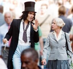 Russell Brand & Helen Mirren in Arthur
