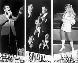 "Nancy Sinatra in ""Night of a Thousand Sinatras"" in Las Vegas"