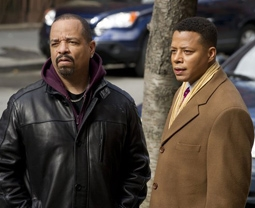 Ice-T & Terrence Howard in Law & Order: Special Victims Unit