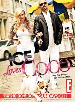 Coco Austin & Ice-T in Ice Loves Coco on E!