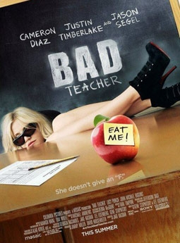 Bad Teacher with Cameron Diaz, Justin Timberlake, & Jason Segel
