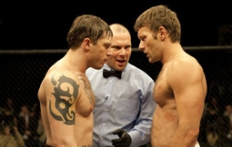 Tom Hardy & Joel Edgerton in Warrior