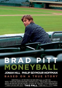 Moneyball with Brad Pitt, Jonah Hill & Philip Seymour Hoffman