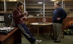 Brad Pitt & Jonah Hill in Moneyball