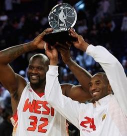 Shaq & Kobe Bryant