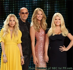Nicole Richie, John Varvatos, Elle Macpherson & Jessica Simpson in Fashion Star on NBC
