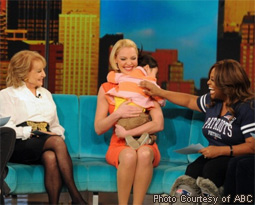 Barbara Walters, Katherine Heigl, & Sherri Shepherd on The View
