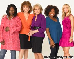 Whoopi Goldberg, Joy Behar, Barbara Walters, Sherri Shepherd & Elisabeth Hasselbeck