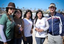 Camila Alves & Matthew McConaughey with Members of Their j.k. livin Program