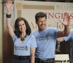 Miriam Shor & Mark Deklin in GCB