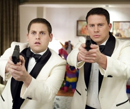 Jonah Hill & Channing Tatum in 21 Jump Street